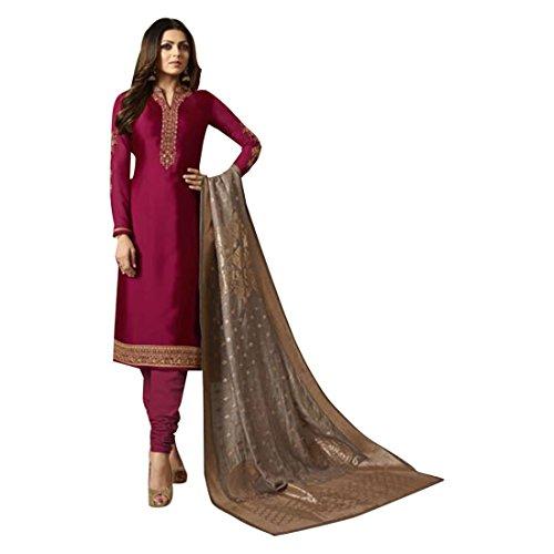 ETHNIC EMPORIUM Indische pakistanische gerade Salwar kamiz Kameez Anzug Bollywood mädchen top gerade Hose Hochzeitsanzug Georgette Herren Party Frauen 2709