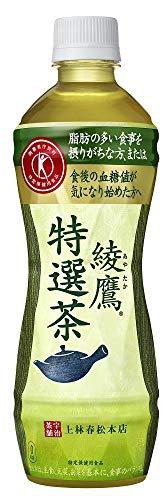 トクホ コカ・コーラ 綾鷹 特選茶 500mlPET×24本