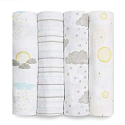 Aden + Anais swaddle wraps for baby