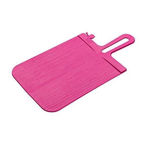 Koziol Planche à découper Snap, Planche à Pain, Rose Opaque, 3251584