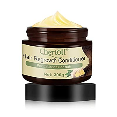 Hair Regrowth Conditioner, Hair Loss Natural Thickening Volume Conditioner, Repair & protect hair, Anti hair loss, Hair rejuvenatio, Seals split ends, controls frizz