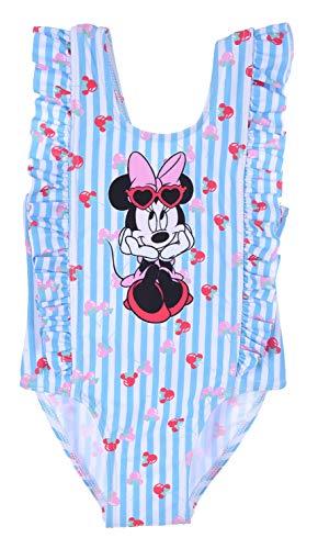 Minnie Mouse, Maillot De Bain 1 Pièce Bébé Fille