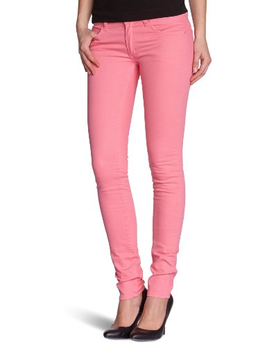 Cheap Monday Damen Jeans Slim Skinny, Pink, Rose (Strawberry Pink), 25W/32L