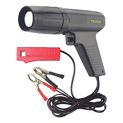 Automotive Timing Light 12V, Inductive Ignition Timing Light Gun for 2&4 Stroke Petrol Engine for Old Classical Car Motorcycle