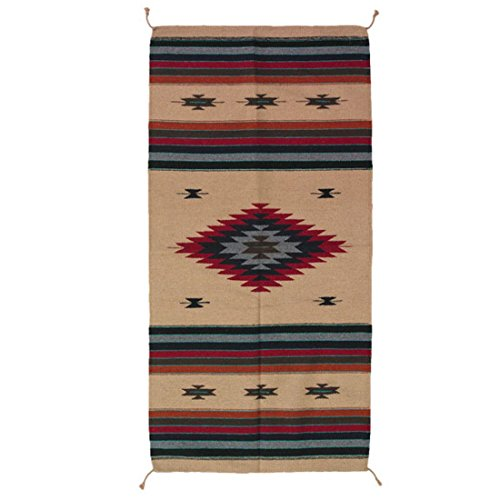 The Route 66 Shop Teppich/Läufer im Stil der Navajo-Indianer - Southwest Ranch, Style X