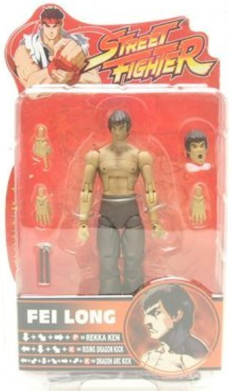 comprar ahora Street Fighter Series Series Series 4 Fei Long Acción Figura by Sota Juguetes  mejor servicio