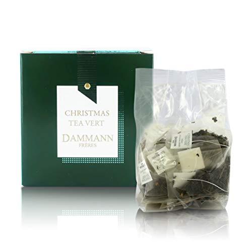 Pasticceria Passerini dal 1919 Christmas Tea, Té Verde de Navidad, Edición Especial 2020, 25 bolsitas - Dammann Frères