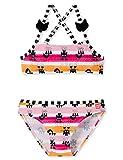 Schiesser Mädchen Water Cat Bustier-Bikini Badebekleidungsset, Mehrfarbig (Multicolor 1 904), (Herstellergröße: 104)