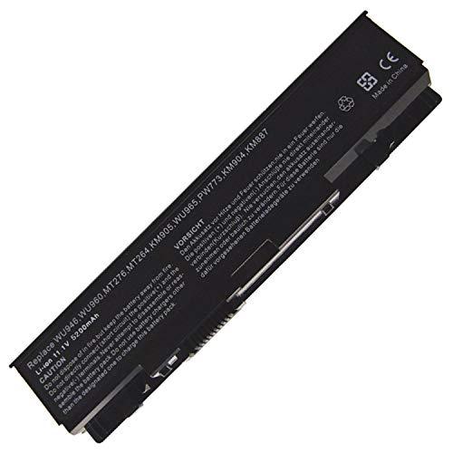 HUBEI 11.1V 5200mAh PP39L WU946 Batterie d'ordinateur Portable de Remplacement pour Dell Studio 1535 1536 1537 1555 1557 1558 PP33L PW773 312-0701 312-0702 C313K KM904 KM958 MT264 A2990667