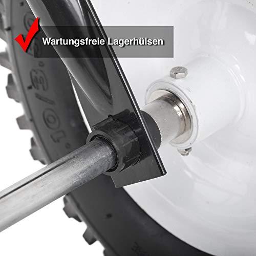 HECHT Universal-Streuwagen 260 ANHÄNGER Streumaschine Düngerstreuer Salzstreuer (mit ca. 60 Liter Fassungsvermögen);;;;; - 7