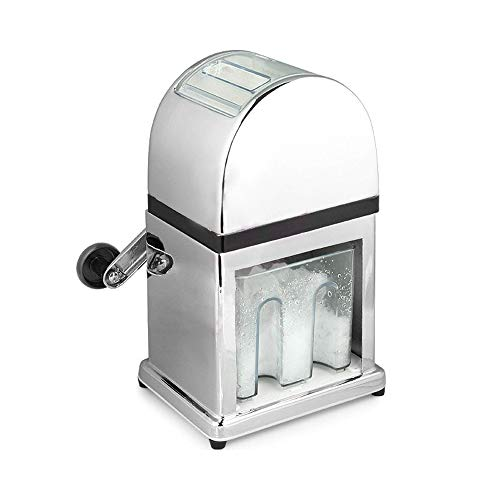 JFZS Eiswürfelmaschine Manuelle Eisbrecher-Maschine Im Retro-Stil Mit Eisschaufel Für EIS Kalte Getränke Fruchtdessert Und Cocktail