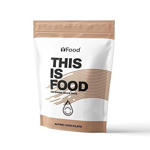 yfood batido en polvo   sustituto de comida   THIS IS FOOD batido de proteína   17 comidas   26 vitaminas y minerales   pack 1,5kg