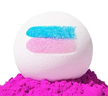 Gender Reveal Bath Bomb Large 6.5oz Bath Bombs for Gender Reveal Parties Baby Showers etc  Pink