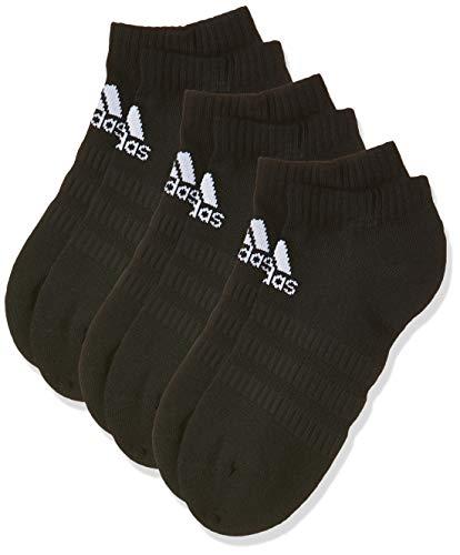 adidas Socken 3 Paar Cush Low No Show, Black/Black/Black, M, DZ9385