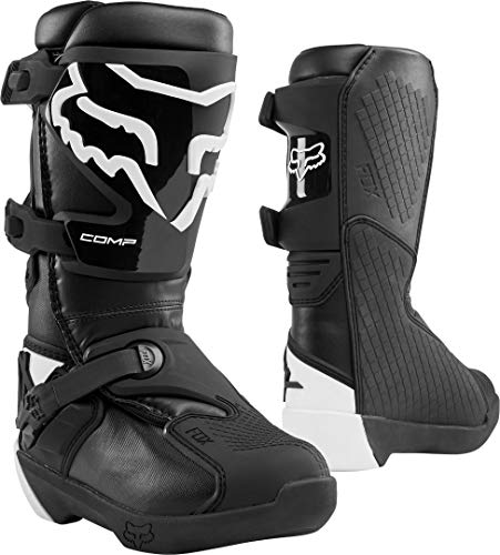 Fox Racing YTH COMP Boot, Black, 7