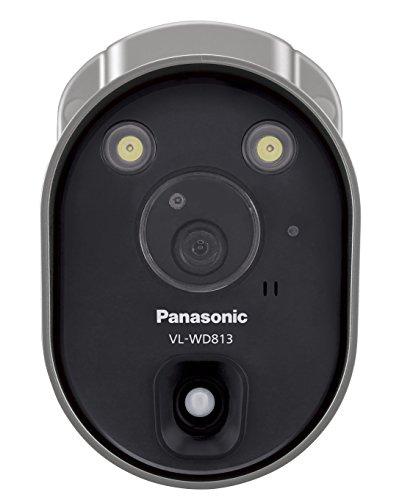 パナソニック(Panasonic) センサーライト付屋外ワイヤレスカメラ 電源コード式 VL-WD813K