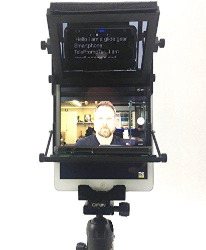 Glide Gear TMP-WB Solo Tablet iPad Laptop Desktop Tripod Teleprompter