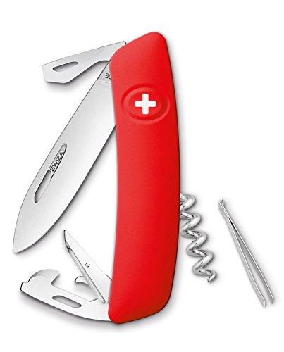 SWIZA Schweizer Messer D03 rot Gesamtlänge: 16.7cm, 75 mm