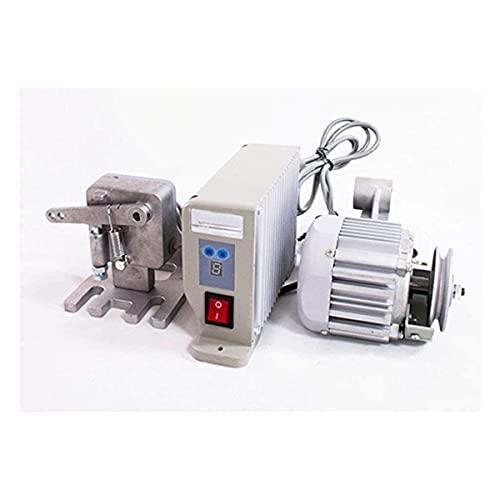Kacsoo Servomotor eléctrico sin escobillas, 220 V, 550 W, ahorro de energía, 6500 rpm, velocidad ajustable, motor para máquinas de coser industriales, motor de costura ajustable