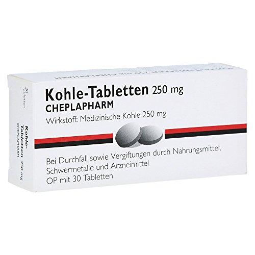 KOHLE Tabletten 30 St