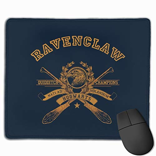Aesthetic Ravenclaw Harry Potter Amino Rubber Base Non-Slip Mouse Pad Environmentally Friendly Washable and Comfortable 9.8 * 11.8in