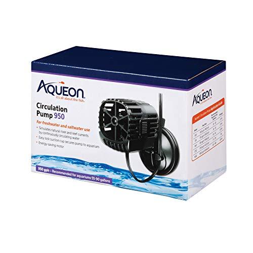Aqueon Circulation Pump for Aquariums, 950 GPH, QuietFlow, Black