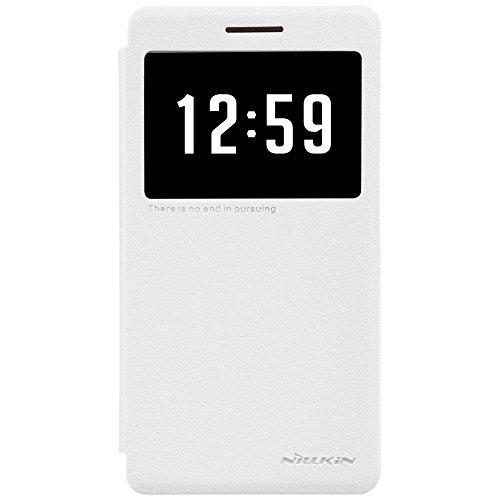 Nillkin HUAWEIHONOR7I-Sparkle-White Funkeln Leder-Tasche für Huawei Honor 7i weiß