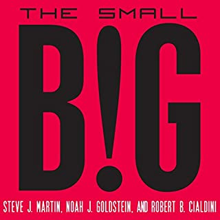 The Small Big audiobook cover art