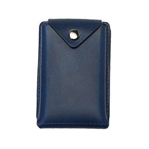 (アブラサス)abrAsus 薄いカードケース ブッテーロレザーエディション ブルー
