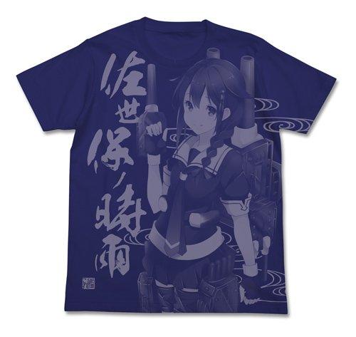 艦隊これくしょん -艦これ- 佐世保の時雨 Tシャツ ナイトブルー Mサイズ