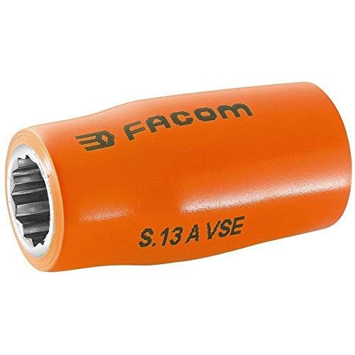 Facom S.8AVSE - VASO 1/2 AISLADO 1000V 8 MM SERIE VSE