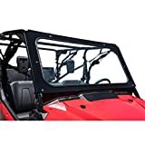 UTV Full Glass Windshield without Windshield Wiper compatible with Honda Pioneer 1000 2016-2020