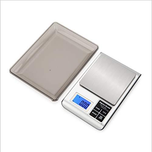 balança de cozinha plug-in usb balança eletrônica de 0,01g balança de café de 500g cozinha doméstica fermento pesando fitoterapia chinesa pesando