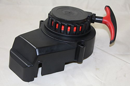 Seilzugstarter für 49cc EASY PLASTIK ROT mit SOFT TOUCH Seilzug Starter Pullstarter für Pocketbike Dirtbike Crossbike Aluminium Mini Atv Quad