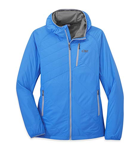 Outdoor Research Refuge Air Hooded Women's Jacket wave blue M