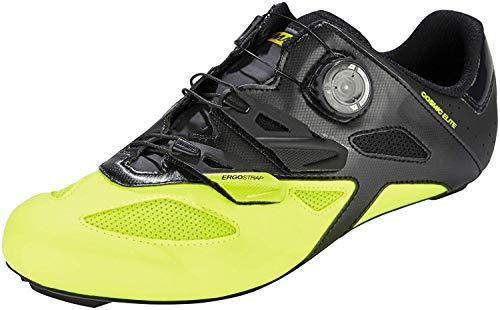 Mavic - Zapatillas de ciclismo de Piel para hombre amarillo amarillo amarillo Size: 43