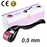 0,3 mm longitud de la aguja Tinksky TS3 540 agujas Micro agujas terapia m/édica piel cuidado herramienta negro rosa