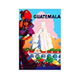 Leinwand-Poster Guatemala, Schlafzimmer, Dekoration, Sport,