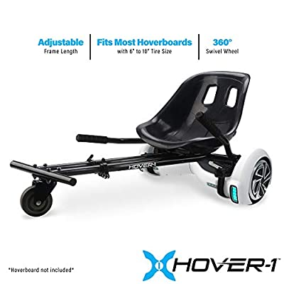 HOVER-1 Buggy Attachment for Transforming Hoverboard Scooter into Go-Kart