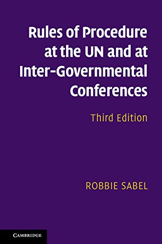 Rules of Procedure at the UN and at Inter-Governmental Conferences (English Edition)