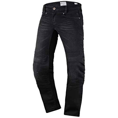 Scott Denim Strech Damen Motorrad Jeans Hose schwarz 2020: Größe: XXL (44)