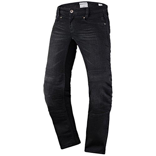 Scott Denim Strech Damen Motorrad Jeans Hose schwarz 2020: Größe: S (36)