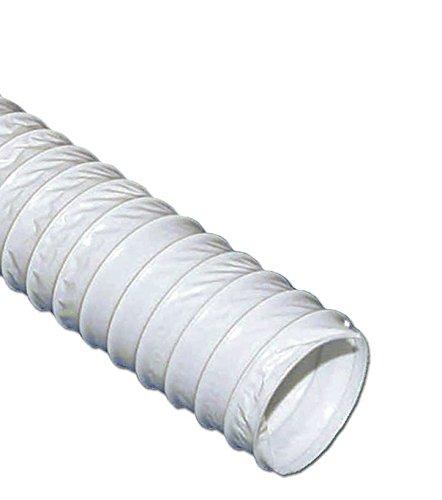 VIOKS 5m Abluftschlauch Luftschlauch flexibel für Abzugshaube Klimaanlage Trockner Dunstabzug Abluft Material: PVC Durchmesser: 150 mm 15 cm Schlauch Länge: 5,0 Meter