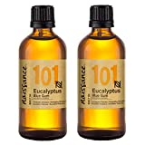 Naissance Aceite Esencial de Eucalipto Globulus n. º 101 – 200ml (2x100ml) - 100% puro, vegano y no OGM GMO
