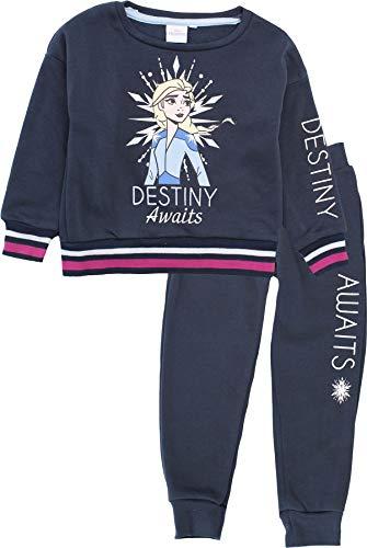 Disney Frozen Girls Awaits Chándal Sudadera con capucha y pantalones de jogging