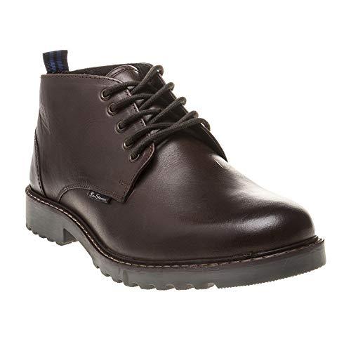 Ben Sherman Herren Ellington Chukka Boots, Braun Schokobraun 180, 42.5 EU