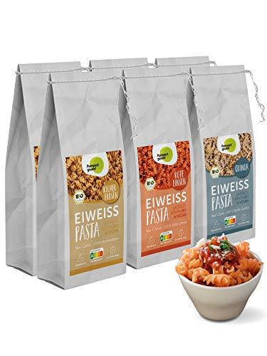 Pumperlgsund Eiweiß-Pasta,Low Carb Nudeln (glutenfrei), Protein Pasta