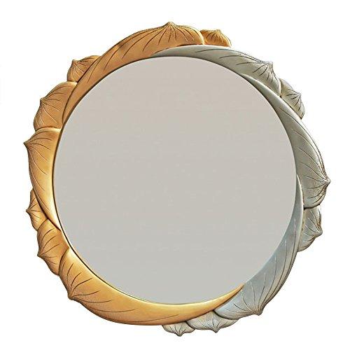 YONG FEI Résine Antique/Ivoire/Or/Argent Transparent Imagerie Haute Définition Argent Miroir Non Déformation Non Fissure Nettoyage Facile Et Entretien Riche couches Convient pour Diverses Occasi