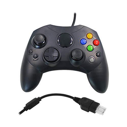 Eaxus®️ Xbox Shock Gamepad, ergonomischer Controller mit 2 Card Slots für die Originale Xbox (2001)
