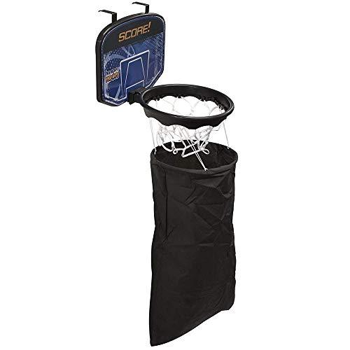 Glow Wäschekorb mit Basketballkorb, zum Aufhängen an der Tür, zum Aufhängen von Schmutzwäsche, Slam Dunk Spaß-Korb für Kinder, Zuhause, Schlafzimmer, Geschenk, Kleidung Halter mit Netz und Rückwand